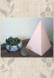 Buy Peach Paper Pyramid Sacred Geometry for the Home at Raspberry Lane Crafts