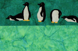 Penguins Pillowcase Pattern