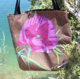 Flower Tote Bags for Sale from The Art of Wendy Christine