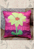 Great hot pink yellow and green flower throw pillow for home decorating.  For sale at Raspberry Lane Crafts Pink Light Throw Pillows