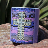 Purple Cross Mug for Sale at Raspberry Lane Home Collection