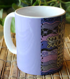 Plum Cross Mug
