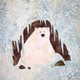 Polar Bear Cave Quilt Block Pattern Digital Download