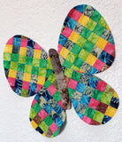 Rainbow Butterfly Sewing Pattern Digital Download