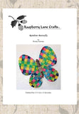 Buy Rainbow Butterfly Quilt Pattern Download from Raspberry Lane Crafts