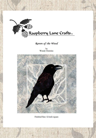 Raven of the Wood Quilt Pattern Download