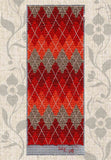 Buy Red Argyle Bookmark Cross Stitch Pattern Find for Sale