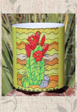 Yellow Cactus Coffee Cup for Sale at Raspberry Lane Crafts. Buy Purchase Find