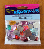 Buy Rhinestones assorted colors shapes and sizes at Raspberry Lane Crafts