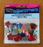 Rhinestones for sale for embroidery jewelry sewing projects.  Buy Find at Raspberry Lane Crafts.