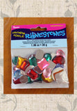 Buy assorted acrylic rhinestones at Raspberry Lane Crafts