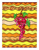 Rosanella Grapes Artwork