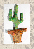 Saguaro Cactus Stuffed Sewing Pattern Mobile for Sale at Raspberry Lane Crafts