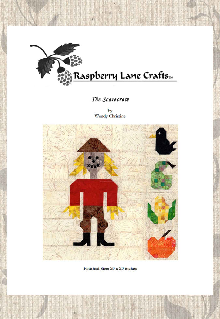 The Scarecrow Quilt Pattern Download
