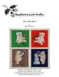 Four Jolly Bears Cross Stitch Download
