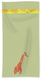 Giraffe Hand Towel for Sale Safari Jungle Exotic Towels Home Decor at Raspberry Lane Home