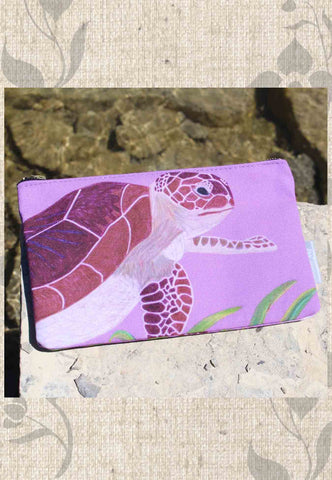 Sea Turtle Accessory Pouches
