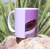 Sea Turtle Purple Mug