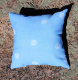 Blue Spotted Throw Pillows for Sale at Raspberry Lane Crafts