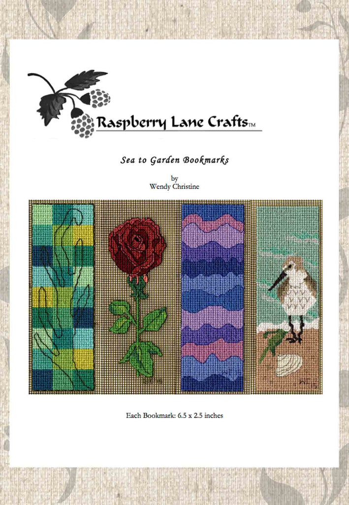 Buy Sea to Garden Cross Stitch Pattern Download Rose Beach Mountain Designs Find Purchase on Sale