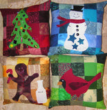 Seasons Greetings Pillow Collection Digital Download