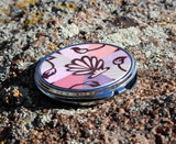 Peach sea shell compact mirrors for sale