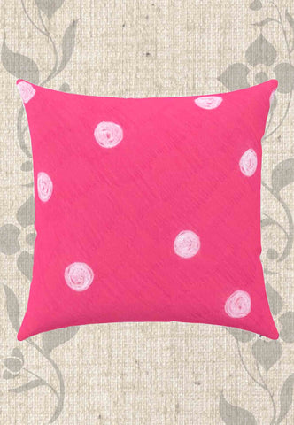 Snail Shell Dot Throw Pillows