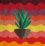 Southwest Yucca needlepoint original by Wendy Christine at Raspberry Lane Crafts.
