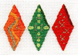 Gothic Ornaments Cross Stitch Pattern