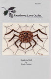 Spider in Web Cross Stitch Pattern for Sale at Raspberry Lane Crafts by Wendy Christine