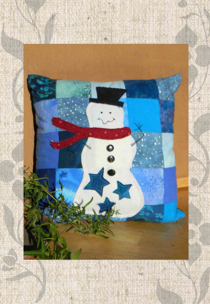 Buy Snowman quilt pattern at Raspberry Lane Crafts
