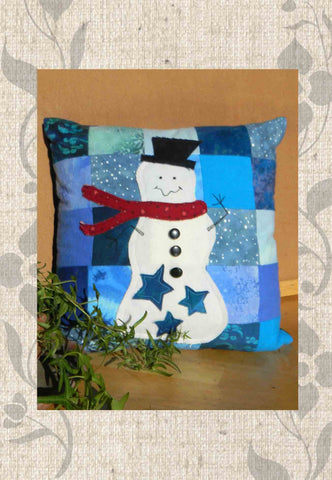 Star Snowman Pillow Pattern