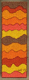 Sea to Garden Bookmarks Cross Stitch Pattern Digital Download