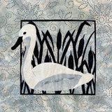Swan in the Reeds Quilt Pattern
