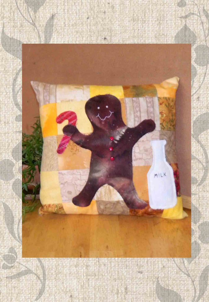 Buy Gingerbread man quilt pattern at Raspberry Lane Crafts