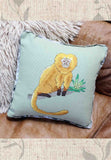Buy Golden Lion Tamarin Monkey Cross-Stitch Pattern at Raspberry Lane Crafts.