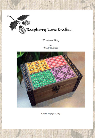 Treasure Box Cross Stitch Pattern Download