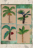 Buy Tropical Palm Trees Cross Stitch Patterns at Raspberry Lane Crafts