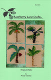 Tropical Palms Cross Stitch Pattern