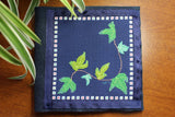 Ivy leaves cross stitch pattern for sale at Raspberry Lane Crafts.  Download E-Pattern