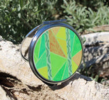 Colorful Compact Mirrors for Purse and Make-Up for Sale from The Art of Wendy Christine