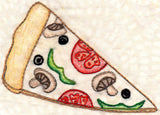 Buy pizza slice embroidery design pattern download at Raspberry Lane Crafts