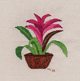 Voodoo Doll Bromeliad Cross Stitch Download