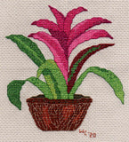 Voodoo Doll Bromeliad Cross Stitch Pattern for Sale at Raspberry Lane Crafts