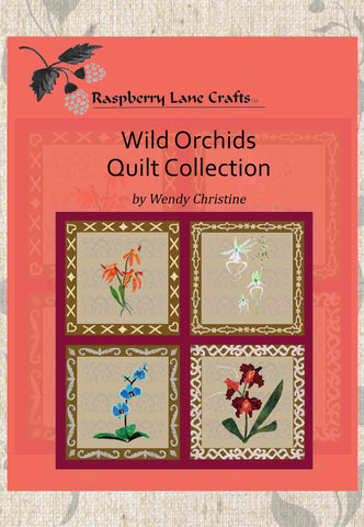 Wild Orchids Quilt Book Download