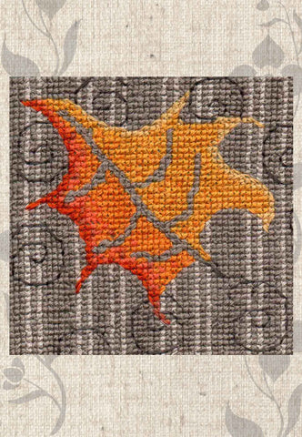 Leaves in the Wind Cross Stitch Pattern