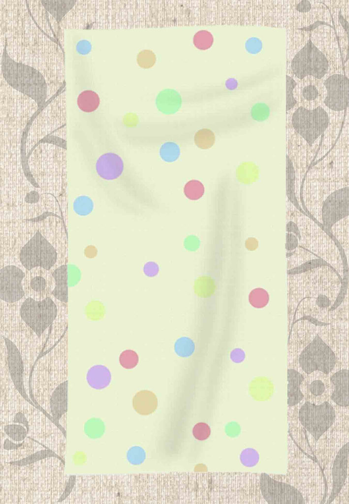 Yellow Spotty Towel by Wendy Christine for Sale at Raspberry Lane Crafts.
