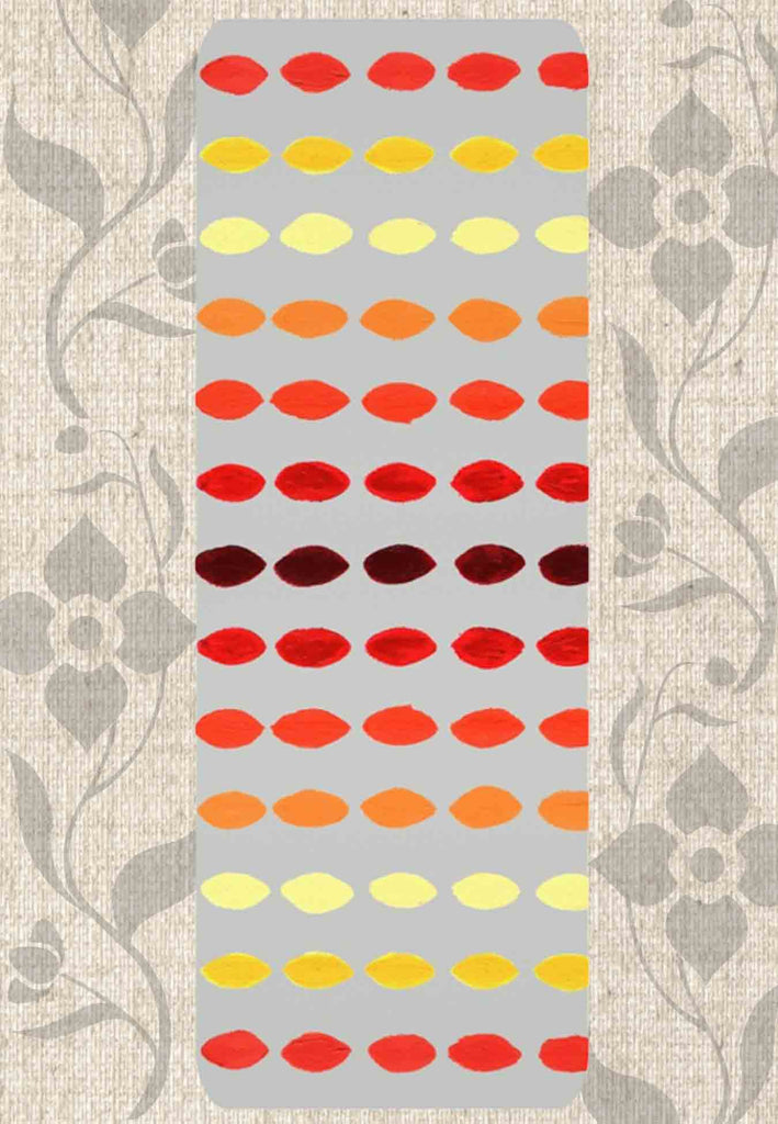 Great Orange Yellow Red Yoga Mats for Sale at Raspberry Lane Crafts Yucatan Fuego Yoga Mats.