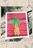 Yucca tree art print from The Art of Wendy Christine for sale Red Southwest Art Print 8 x 10 Signed by Artist at Raspberry Lane Crafts.