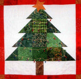 Christmas Tree Pieced Quilt Pattern for Sale